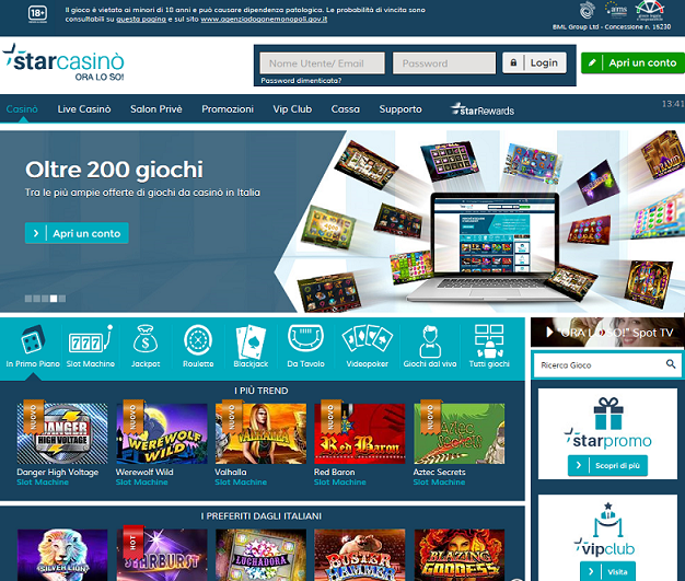 StarCasinò Screenshot