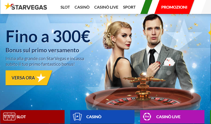 StarVegas Casino Screenshot