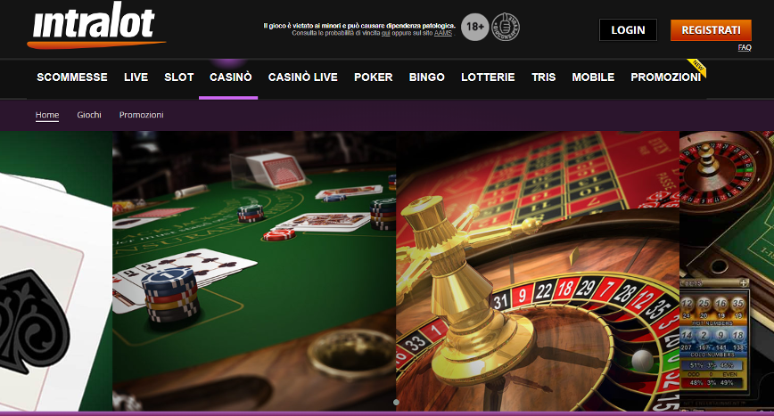 Intralot casino Screenshot